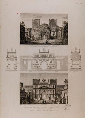 Arco detto di Druso e porta Appia