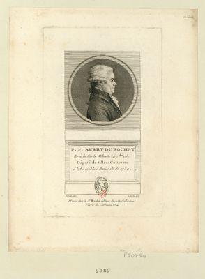 P.F. Aubry du Bochet ne à la Ferte Milon le 14 7.bre 1737 député de Villers Cotterets à l'Assemblée nationale de 1789 : [estampe]