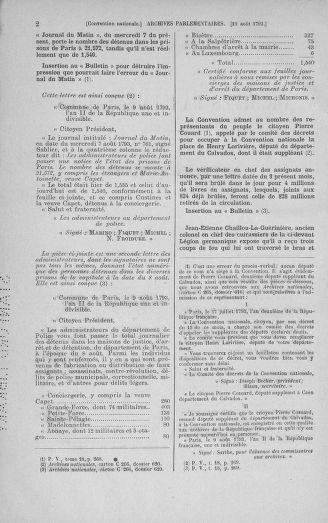 Tome 72 : Du 11 au 24 août 1793 - page 2