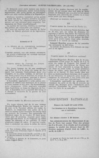 Tome 72 : Du 11 au 24 août 1793 - page 47