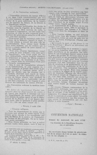 Tome 72 : Du 11 au 24 août 1793 - page 129