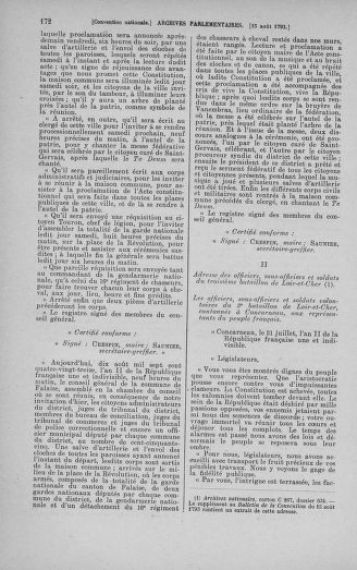 Tome 72 : Du 11 au 24 août 1793 - page 172