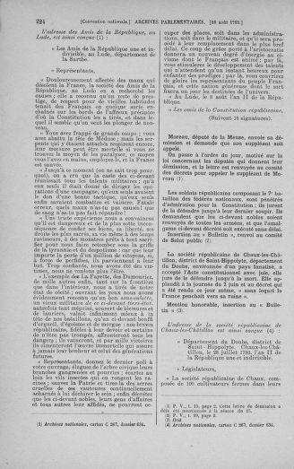 Tome 72 : Du 11 au 24 août 1793 - page 224
