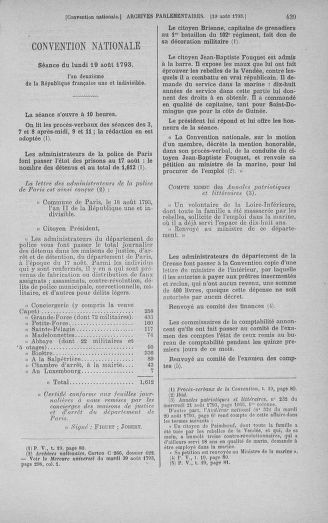 Tome 72 : Du 11 au 24 août 1793 - page 439