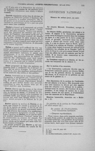 Tome 72 : Du 11 au 24 août 1793 - page 515