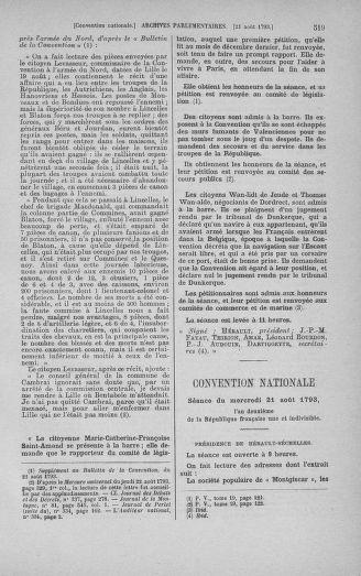 Tome 72 : Du 11 au 24 août 1793 - page 519