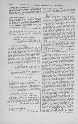 Tome 72 : Du 11 au 24 août 1793 - page 604