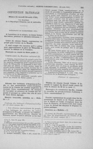 Tome 72 : Du 11 au 24 août 1793 - page 691