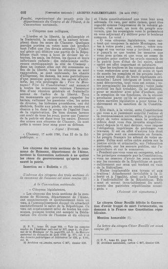 Tome 72 : Du 11 au 24 août 1793 - page 692