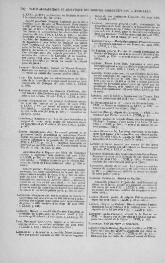 Tome 72 : Du 11 au 24 août 1793 - page 792