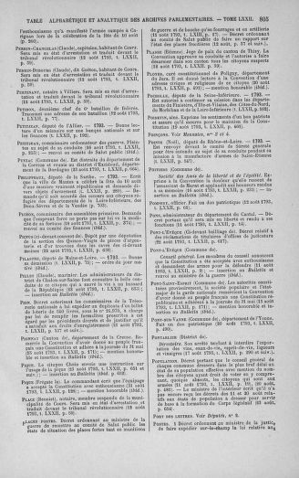 Tome 72 : Du 11 au 24 août 1793 - page 805