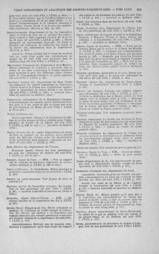 Tome 72 : Du 11 au 24 août 1793 - page 811