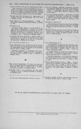 Tome 72 : Du 11 au 24 août 1793 - page 816