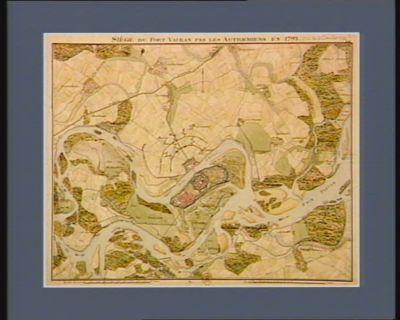 Siège du Fort-Vauban par les Autrichiens en 1793 [dessin]