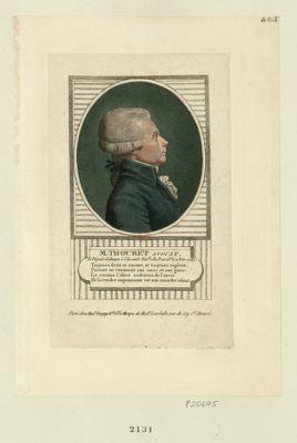 M. Thouret avocat et député de Rouen à l'Assemb. nat.le, élu presidt le 11 nov 1789 : [estampe]