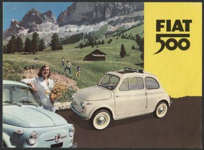 Fiat Nuova 500 (1957-1963) miscellaneous