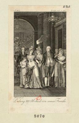 Ludwig XVI Abschied von seiner Familie [estampe]