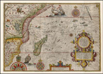 Delineatio Orarum Maritimarum, Terrae vulgo Indigetatae Terra do Natal, item Sofalae, Mozambicae, & Melindae . .