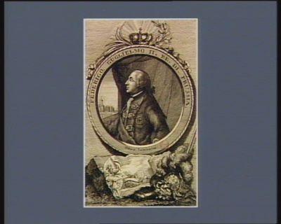 Federigo Guglielmo II Re di Prussia nato 12 settebre 1744 : [estampe]
