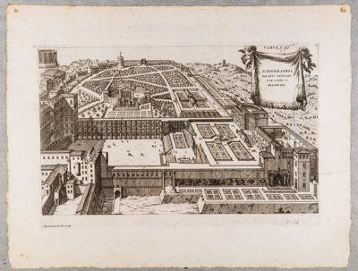 Ichnographia Palatii Vaticani sub Sixto V delineata