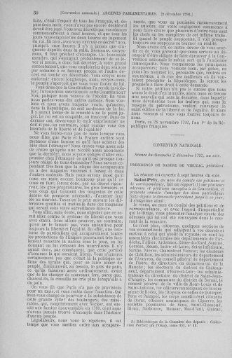 Tome 54 : Du 1er au 10 décembre 1792 - page 50