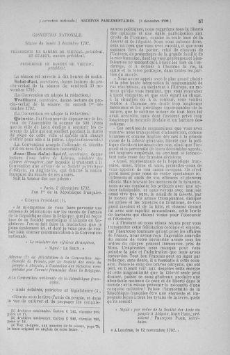 Tome 54 : Du 1er au 10 décembre 1792 - page 57