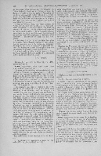 Tome 54 : Du 1er au 10 décembre 1792 - page 64