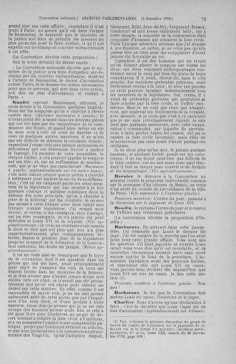 Tome 54 : Du 1er au 10 décembre 1792 - page 73
