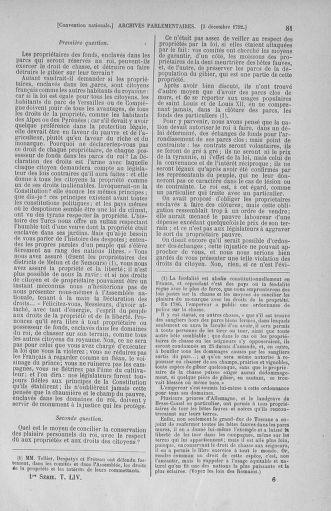 Tome 54 : Du 1er au 10 décembre 1792 - page 81