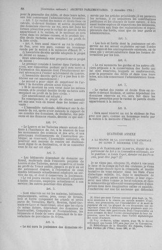 Tome 54 : Du 1er au 10 décembre 1792 - page 88