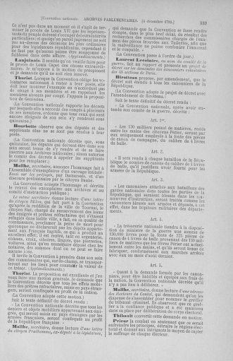 Tome 54 : Du 1er au 10 décembre 1792 - page 339