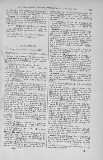 Tome 54 : Du 1er au 10 décembre 1792 - page 353