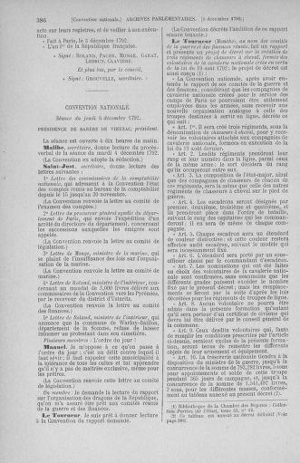 Tome 54 : Du 1er au 10 décembre 1792 - page 386