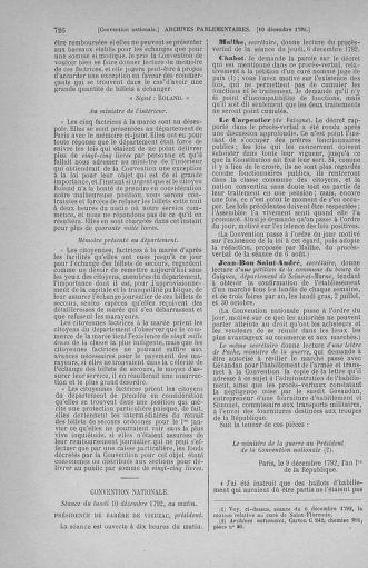 Tome 54 : Du 1er au 10 décembre 1792 - page 726