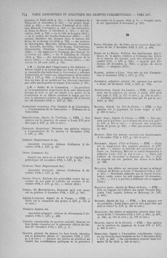 Tome 54 : Du 1er au 10 décembre 1792 - page 774