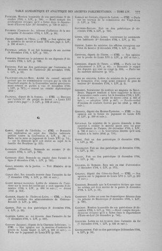Tome 54 : Du 1er au 10 décembre 1792 - page 777