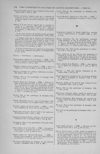 Tome 54 : Du 1er au 10 décembre 1792 - page 778