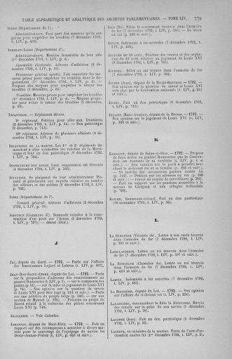 Tome 54 : Du 1er au 10 décembre 1792 - page 779
