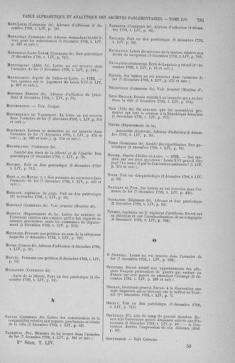 Tome 54 : Du 1er au 10 décembre 1792 - page 785