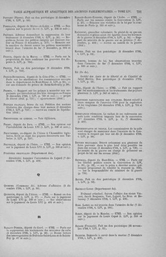 Tome 54 : Du 1er au 10 décembre 1792 - page 791