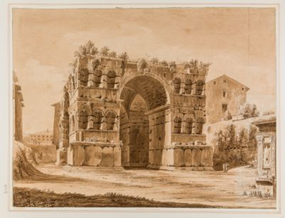 Arco di Giano, veduta da levante