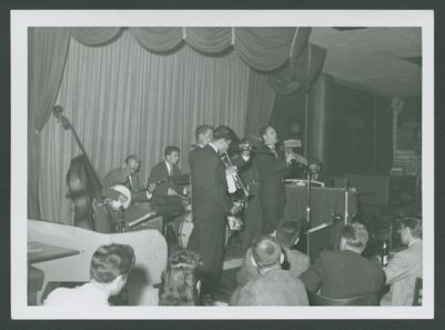 Turk Murphy Jazz Band at the Frolic Inn 9/55 with Bill Carter, clarinet