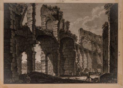Colosseo. Interno di un ambulacro