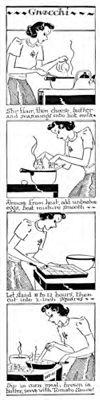 Gnocchi cartoon strip