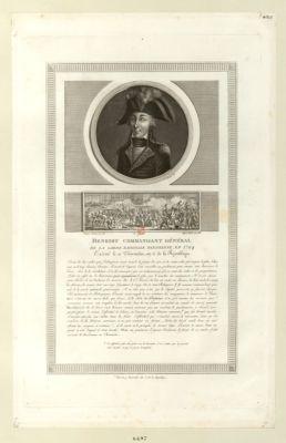 Henriot commandant général de la Garde nationale parisienne en 1794 [estampe]