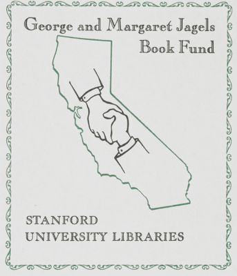 George and Margaret Jagels Book Fund
