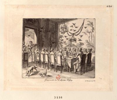 Générosité de Catherine Defoy 18 Nivose An VII [estampe]