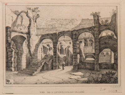 Colosseo, interno. Veduta generale