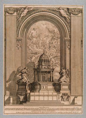 Chiesa di S. Pietro in Vaticano. Cappella del SS. Sacramento