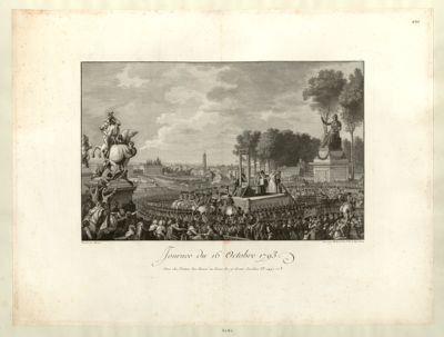 Journée du 16 octobre 1793 [estampe]